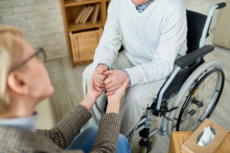 Empathy in Therapy royalty free stock image