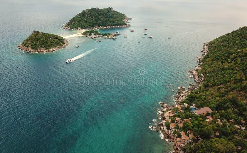 High angle image Clear sea water for diving at Koh Nang Yuan coast in Surat Thani, Thailand. DCIM100MEDIADJI_0800.JPG, n, dcim100mediadji_0800jpg royalty free stock image