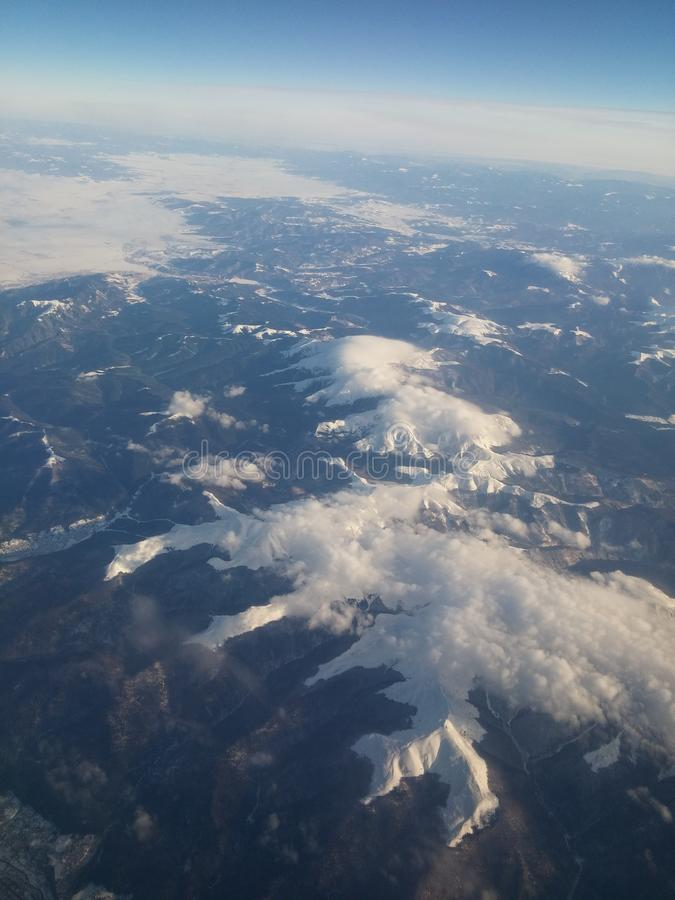 High-Angle View Of Clouds royalty free stock photography