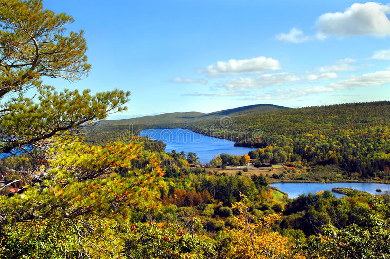 Lake Fanny Hooe royalty free stock images
