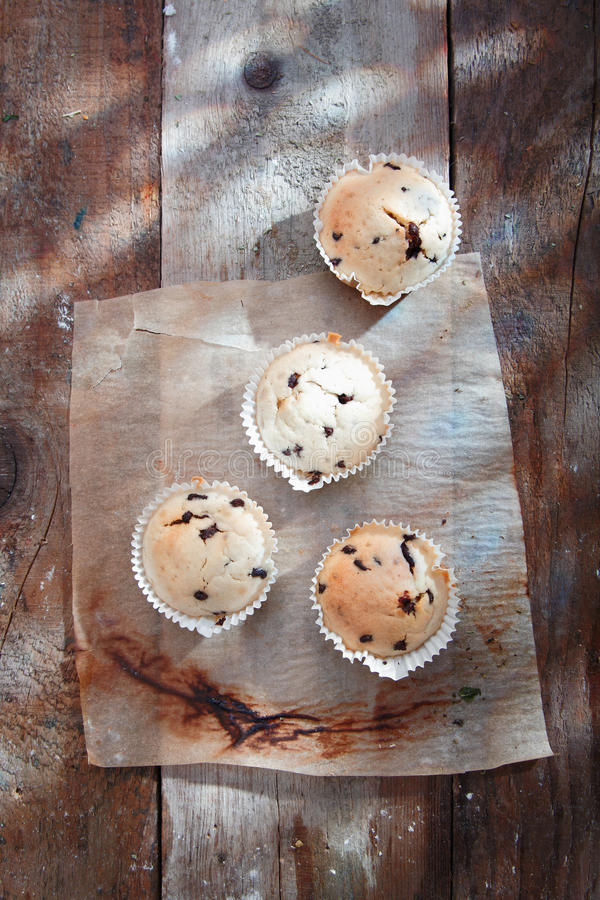 Download High angle view on Muffins stock photo. Image of cottage - 26561190