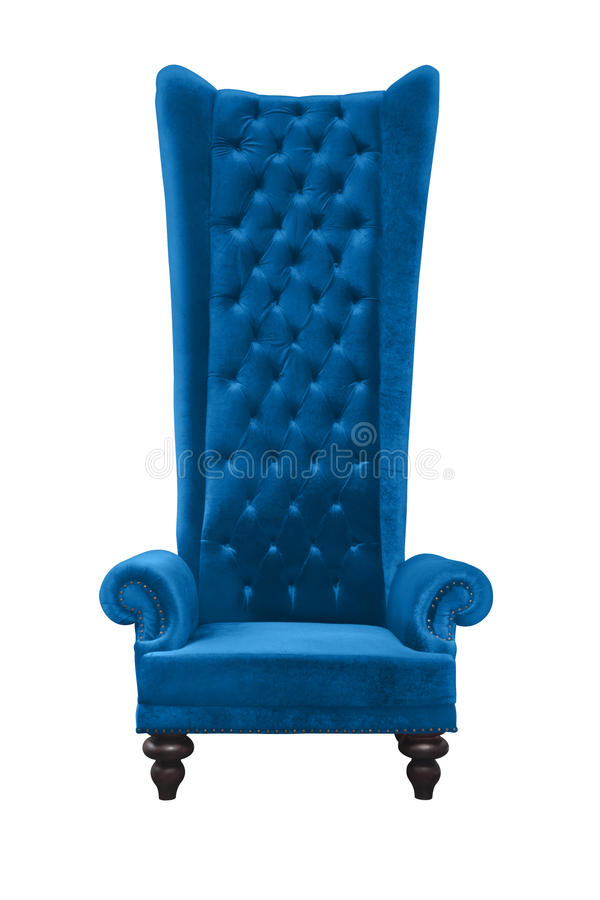 Download High backrest armchair stock illustration. Image of isolated - 29027167