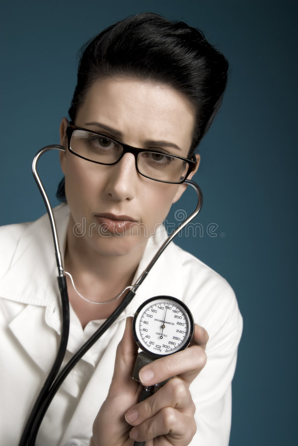 Download High Blood Pressure stock image. Image of female, exam - 3565909