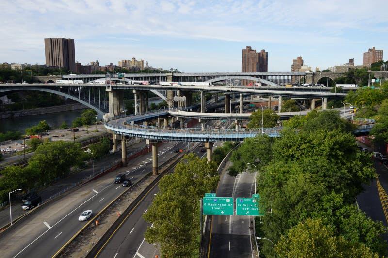 The High Bridge 14. The High Bridge (originally the Aqueduct Bridge) is the oldest bridge in New York City, having originally opened as an aqueduct in 1848 and stock images