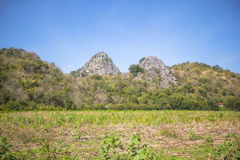 High Calcite Mountain Royalty Free Stock Photo