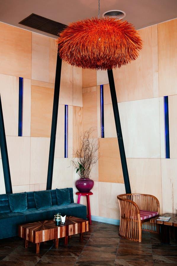 Fantastic Living Room Red Wall Dark Wood Floor White Sofa Stock Photos Evergreenethics Interior Chair Design Evergreenethicsorg