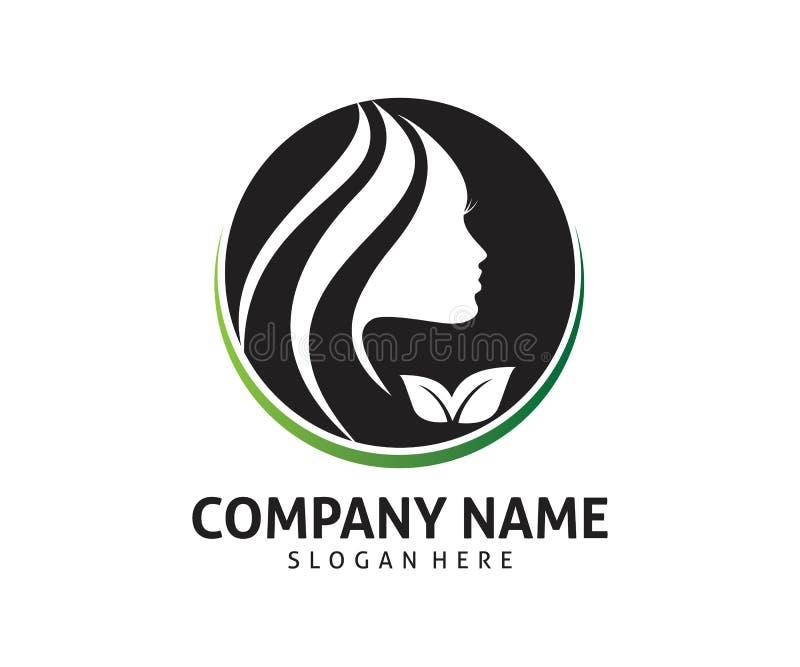 High class women beauty icon logo design. Template vector illustration