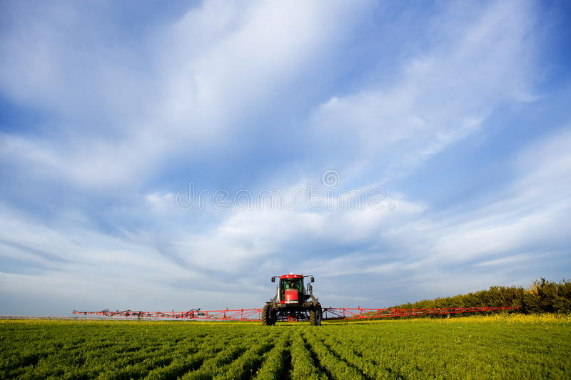 High Clearance Sprayer royalty free stock images