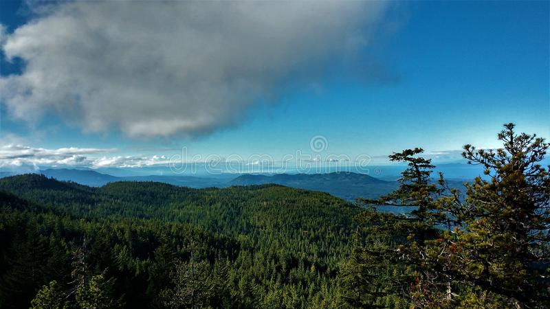 High in the Clouds royalty free stock photos