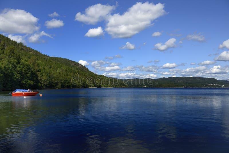 The High Coast (Sweden). Panorama of the high coas (hoga kusten) in summer (Sweden stock photos