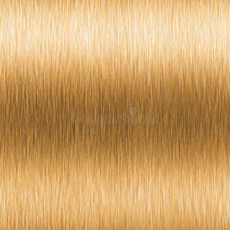 High contrast brushed gold vector illustration