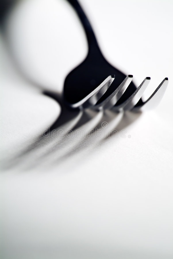 Download High contrast fork stock photo. Image of high, utensil - 3719414