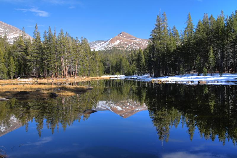 High Country Lake royalty free stock images