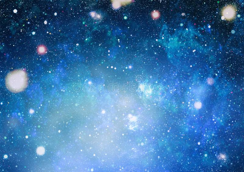 High definition star field background . Starry outer space background texture . Colorful Starry Night Sky Outer Space background. Panoramic looking into deep vector illustration