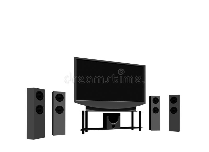 High Definition Television Royalty Free Stock Photos