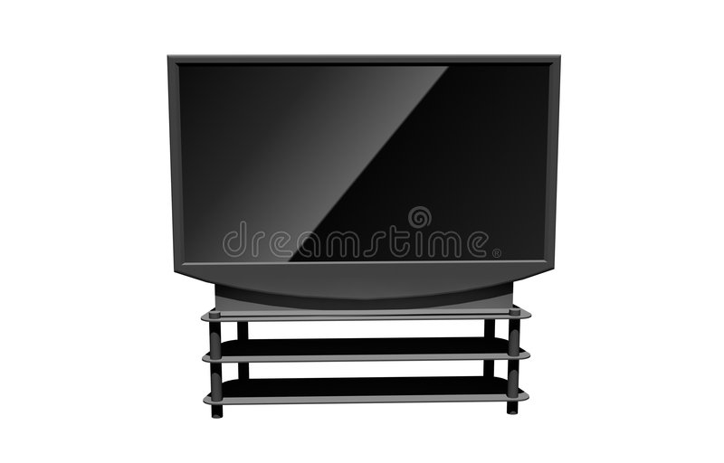 Download High Definition Television Stock Photo - Image: 8432540