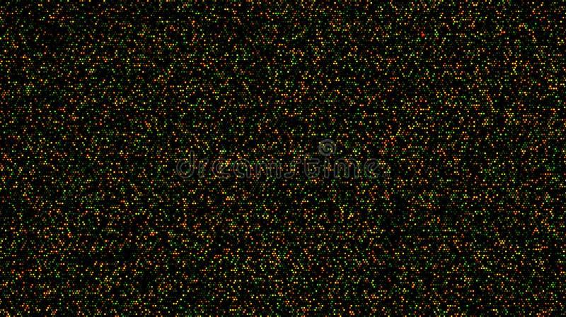 High density DNA microarray royalty free stock photo