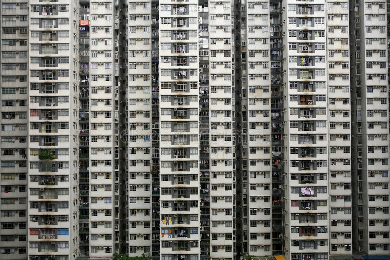Download High-Density Housing stock photo. Image of condo, asia - 840176