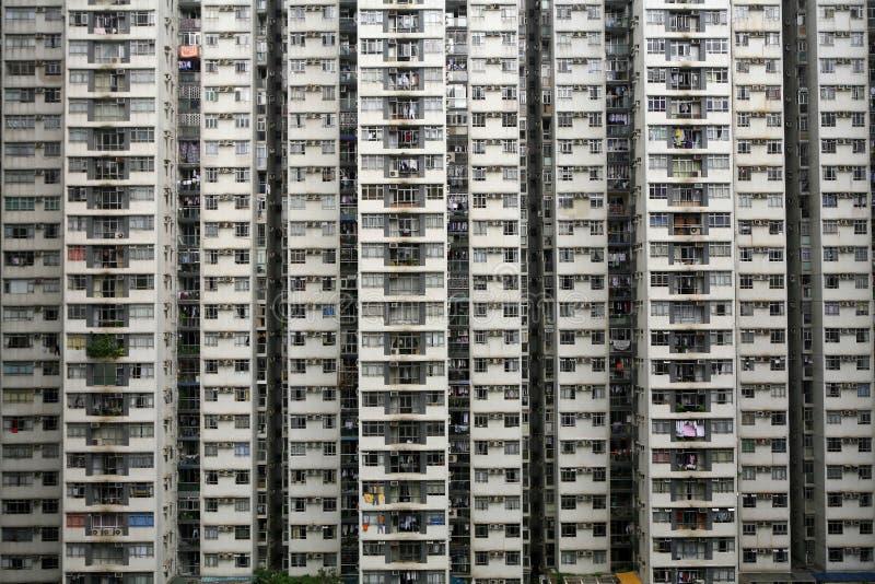 High-Density Huisvesting royalty-vrije stock afbeelding