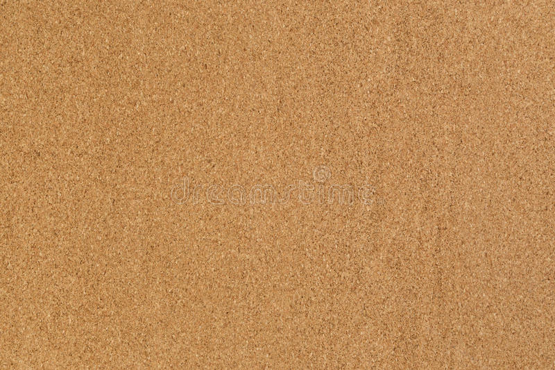 High detailed cork board texture. Close up royalty free stock image