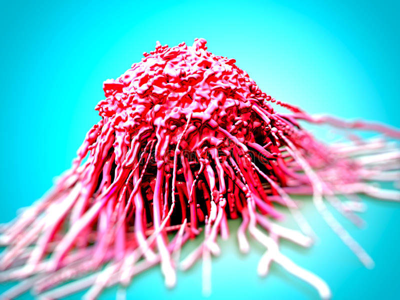 Cancer cell/ tumor vector illustration