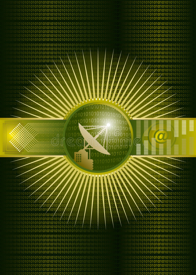 High-end tech. Vector illustration file of high-end tech concept background