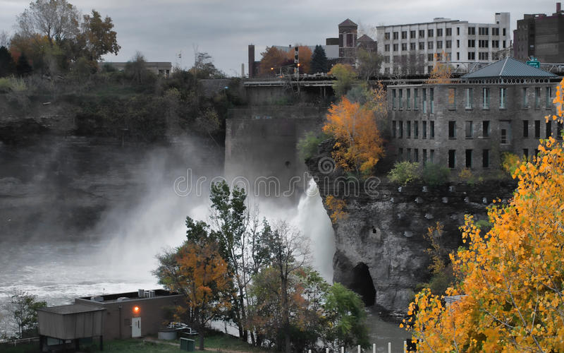 The High Falls stock images