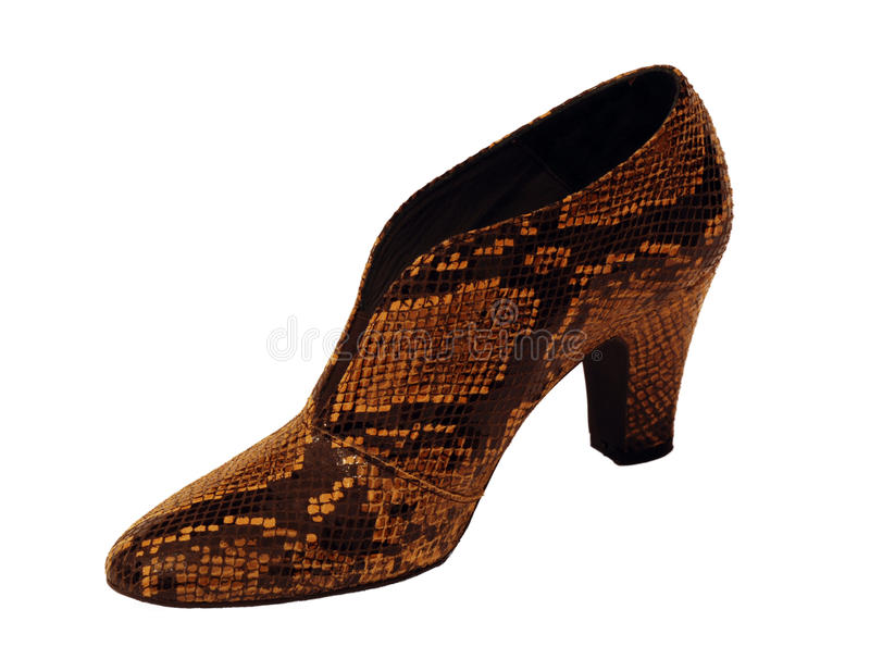High fashion shoe royalty free stock photography