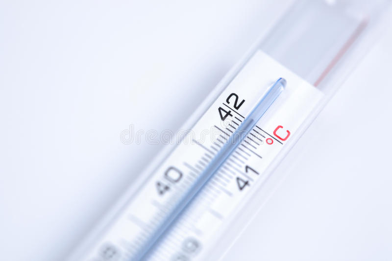 High Fever stock image