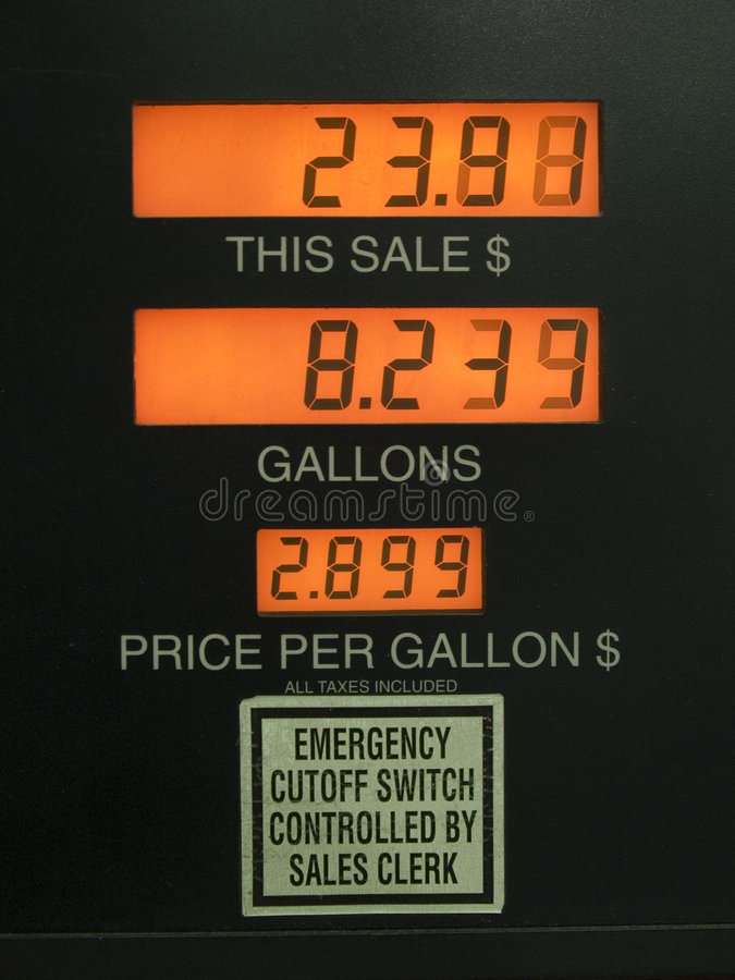 Download High gas prices stock image. Image of rapid, signs, numbers - 718629