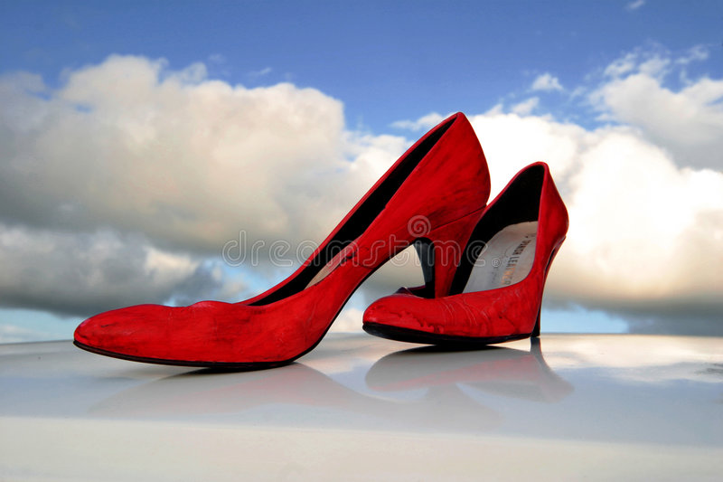 Download High Heals stock photo. Image of colors, shoes, arty, clouds - 1109774