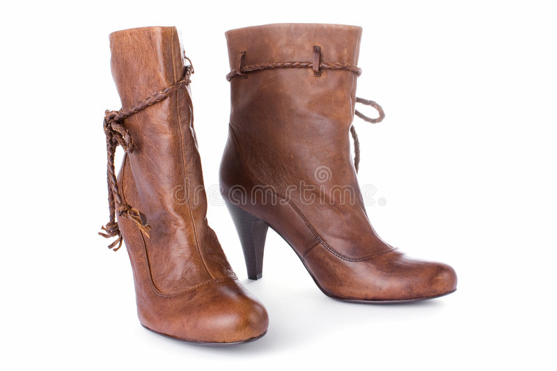 High Heels Half Boot Royalty Free Stock Photo