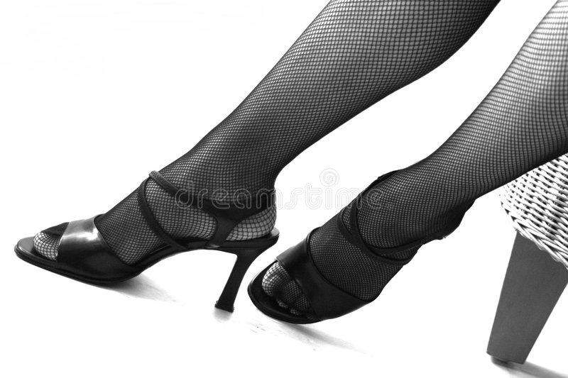 Download High Heels, Legs And Nets Stock Photography - Image: 320402