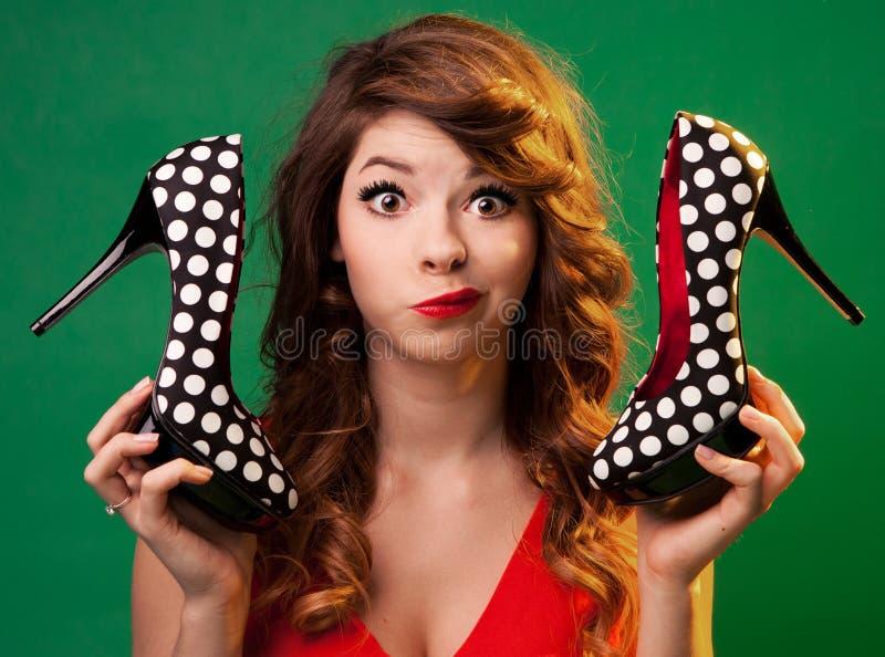 High heels  portrait