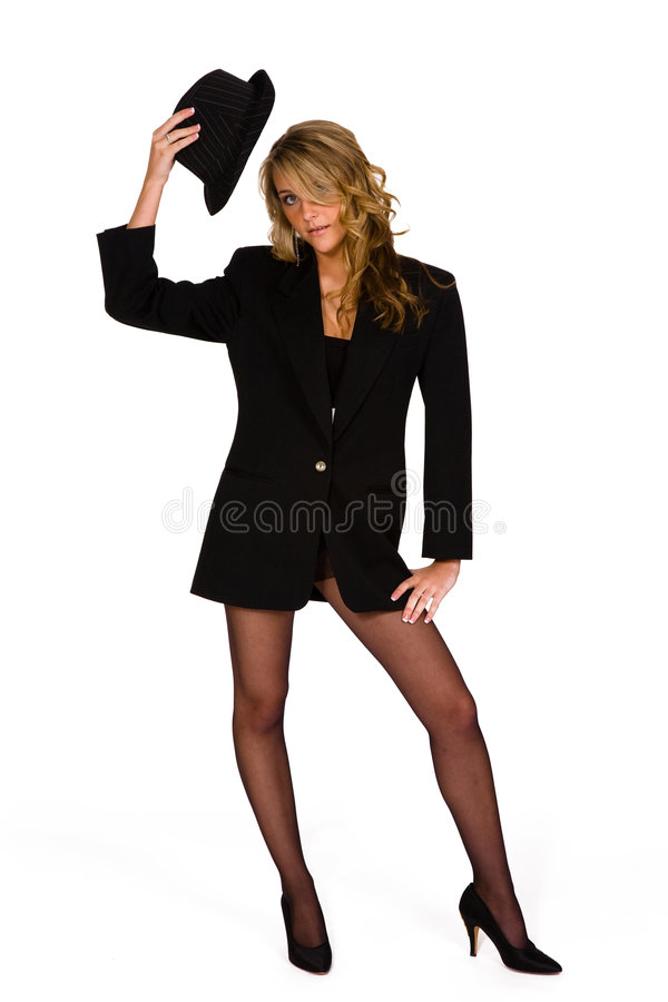 Download High Heels, Stockings And A Hat Stock Image - Image: 4774055