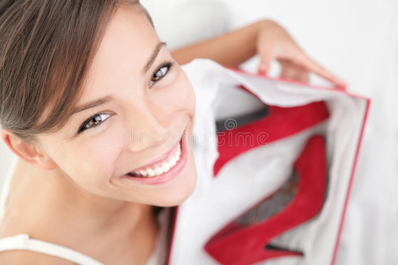 High heels woman stock images