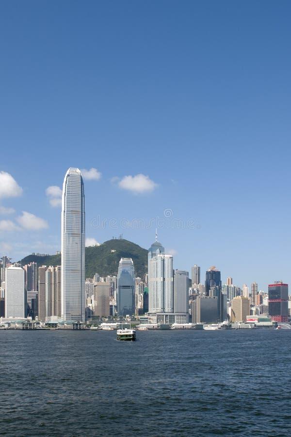 High in Hong Kong royalty free stock photo