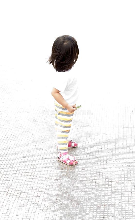 High Key Baby Portrait Stock Photography