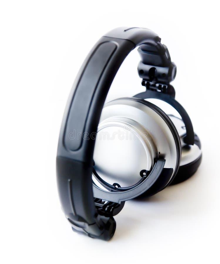 High Key Headphones royalty free stock image