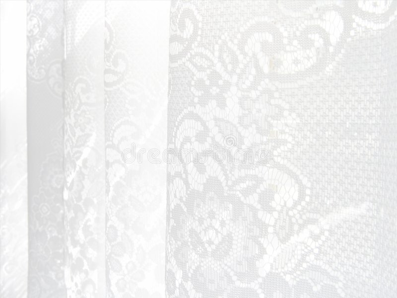High-key Lace Pattern. High-key abstract white lace background royalty free stock images