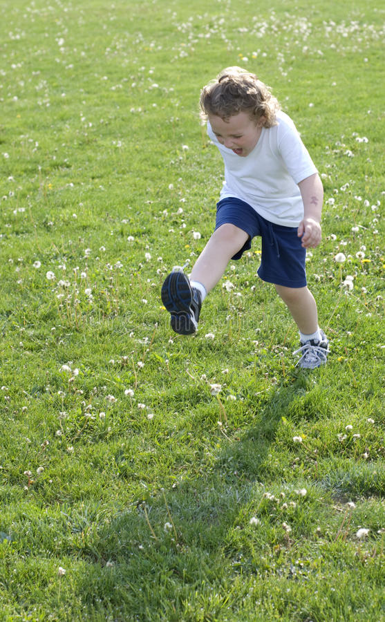 Download High Kick stock photo. Image of young, outside, foot - 12863706