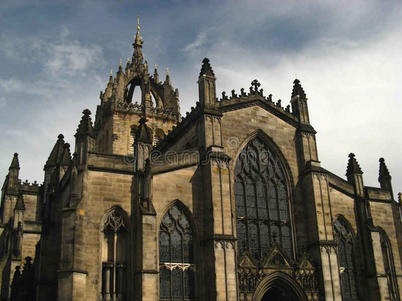 High Kirk Of St. Giles 02 Royalty Free Stock Image