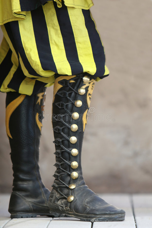 High Lace Boots stock photo