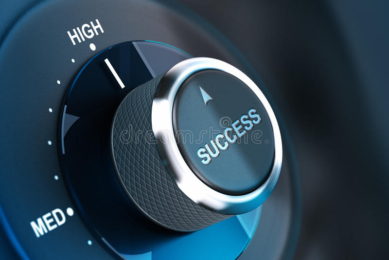High Level Of Success. Succeed Royalty Free Stock Photo