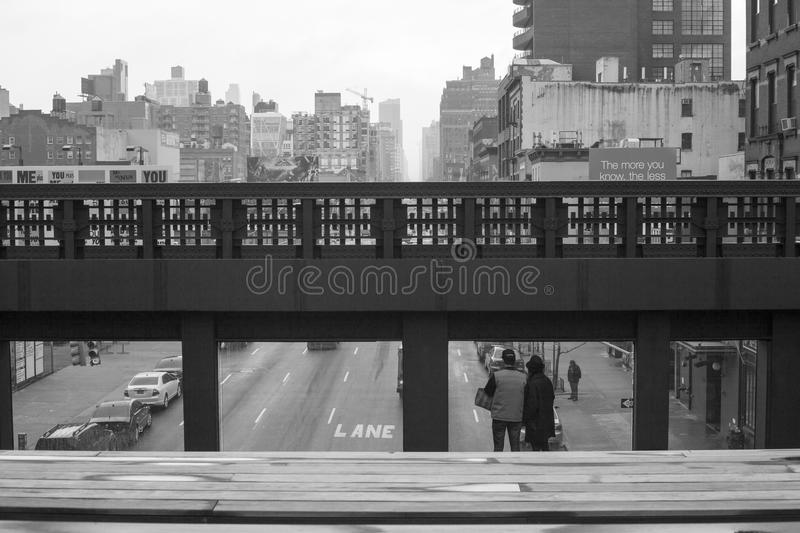 Download High Line View editorial photography. Image of windows - 34831997