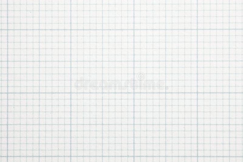 High magnification graph grid scale paper. Shot perfectly square. to image dimension stock photography