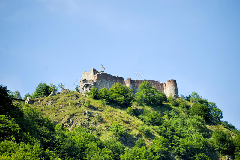 High mountain fortress stock images
