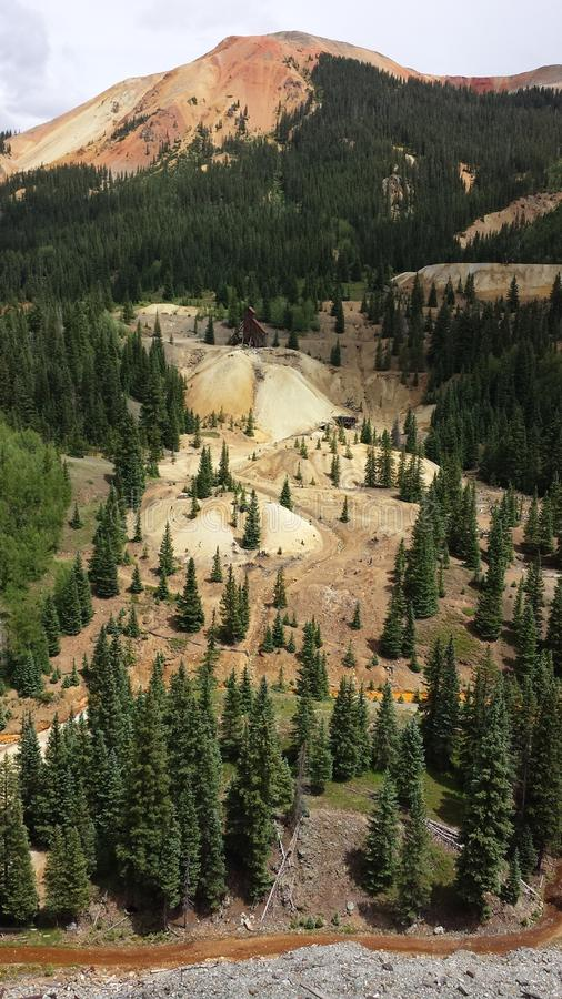 High Mountain Mine royalty free stock photography