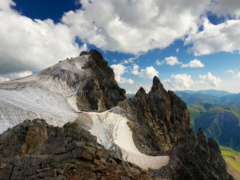 Download High mountains stock image. Image of land, glacier, daybreak - 31354491