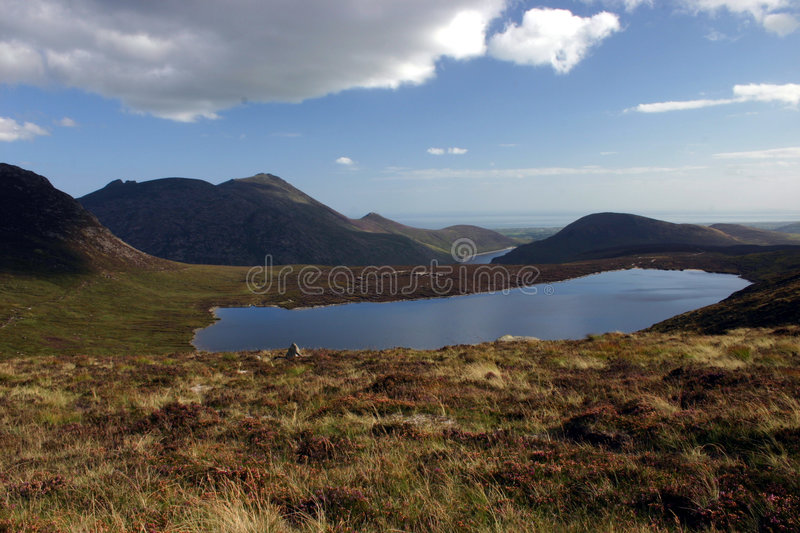 HIGH MOURNES royalty free stock photo